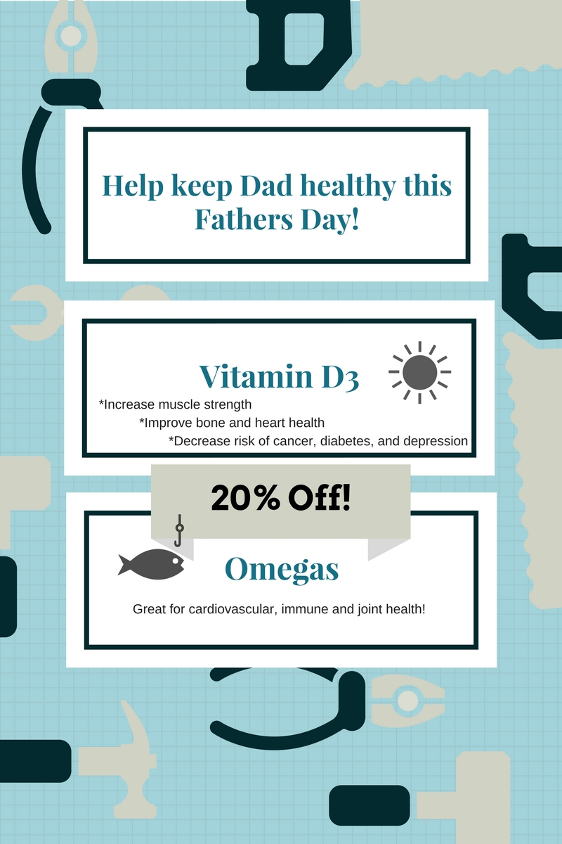 Fathers day omega and vit D